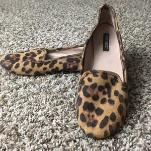 Nine West Leopard Print Flats